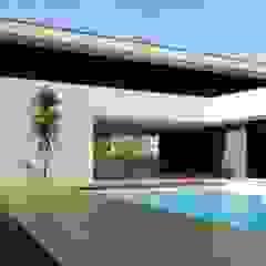 casa JL Piscinas minimalistas por arquitetura.501 Minimalista