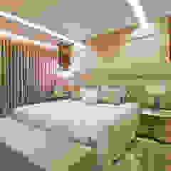 Apartamento clean Quartos modernos por Home projetos Moderno
