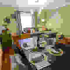 Sala de Estar e Jantar em Odivelas Salas de jantar tropicais por Sizz Design Tropical