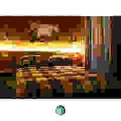 Metro House Kamar Tidur Gaya Industrial Oleh IDEO DESIGNWORK Industrial
