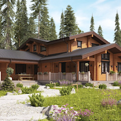 Classic style houses by GOOD WOOD Classic