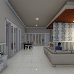interior Dinding & Lantai Modern Oleh Ardha Design Modern