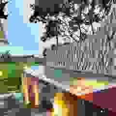 WaB - Wimba anenggata architects Bali 飯店 木頭 Multicolored