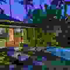 WaB - Wimba anenggata architects Bali Eclectic style hotels Wood Multicolored