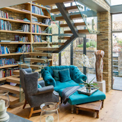 Double height crittall style extension HollandGreen Офіс