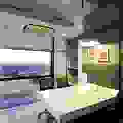 Director's Cabin Studio - Architect Rajesh Patel Consultants P. Ltd Commercial Spaces