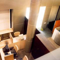 Office Cubicle Studio - Architect Rajesh Patel Consultants P. Ltd Commercial Spaces