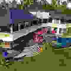 Delmara Villa, Soka Tabanan Bali Dinding & Lantai Gaya Eklektik Oleh Credenza Interior Design Eklektik