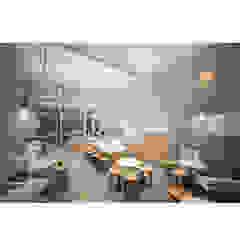 de Studio AKU Escandinavo Derivados de madera Transparente
