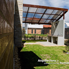 Modern style gardens by DG ARQUITECTURA COLOMBIA Modern Copper/Bronze/Brass