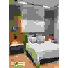 Diseño y construccion (Reforma y remodelacion) - Apto de soltero - Barranquilla Habitaciones de estilo industrial de Savignano Design Industrial