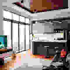 Rumah A+S Balkon, Beranda & Teras Modern Oleh The GoodWood Interior Design Modern