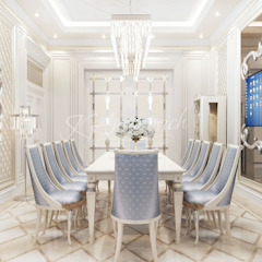 Modern dining room by Luxury Antonovich Design Modern