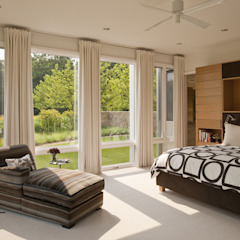 Green Building Features Abound in Bluemont, Virginia Custom Home BOWA - Design Build Experts Modern Bedroom