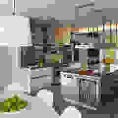 Green Building Features Abound in Bluemont, Virginia Custom Home BOWA - Design Build Experts Modern Kitchen
