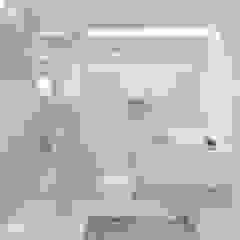 BLUE Eklektyczna łazienka od Ludwinowska Studio Architektury Eklektyczny