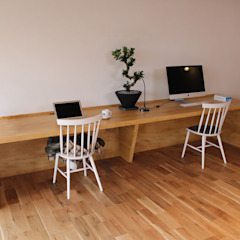 85inc. Offices & stores Wood Wood effect