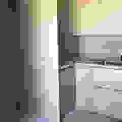 Lussuosa cucina in una villa privata a Terni. di Zanzotti Design Moderno Legno Effetto legno