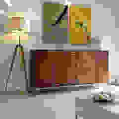 Salas de estilo moderno de USINE STUDIO Moderno