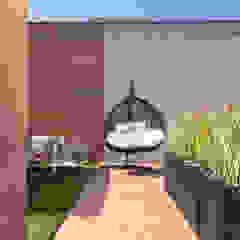 Apartament Bursztynowy od Viva Design - projektowanie wnętrz Egzotyczny Żelazo/Stal