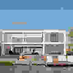 Steel Study House II van Archipelontwerpers Modern IJzer / Staal