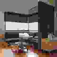 Residência em Varginha/MG Salas multimídia industriais por Rafael Oliveira Arquitetura Industrial