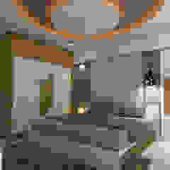 Dormitorios de estilo asiático de shree lalitha consultants Asiático Contrachapado