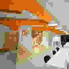 Ground Floor Area Minimalistische Bürogebäude von CUBEArchitects Minimalistisch