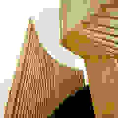 Staircase Design Minimalistische Bürogebäude von CUBEArchitects Minimalistisch Holz Holznachbildung