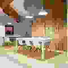 Ground Floor Meeting Area Minimalistische Bürogebäude von CUBEArchitects Minimalistisch