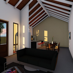 Casa en Susana - Susana - Santa Fe - Argentina Salones rurales de Arquitecto Leandro Puy Rural