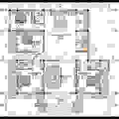 Bản vẽ phương án mặt bằng nội thất bởi Công ty TNHH TKXD Nhà Đẹp Mới Châu Á