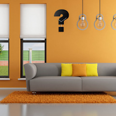 Progetti Question Time Wall Clock: modern  by Just For Clocks,Modern Wood Wood effect