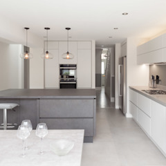 Rear & side wrap-around extension Proctor & Co. Architecture Ltd Built-in kitchens
