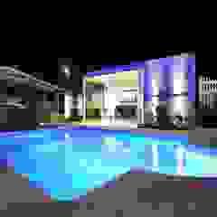 茨城県 個人邸 (4.0m×3.0m レクタングル形状) モダンデザインの ヨット&ジェット の プールカンパニー 株式会社プロスパーデザイン プール事業部 モダン