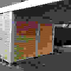 โดย Carport-Schmiede GmbH & Co. KG - Hersteller für Metallcarports und Stahlcarports auf Maß โมเดิร์น เหล็ก