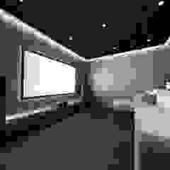Mutiara Palace Ruang Media Modern Oleh KERA Design Studio Modern