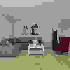 Wnętrze w stylu new york z nutką nowoczesności Rustykalny salon od SO INTERIORS ARCHITEKTURA WNĘTRZ Rustykalny