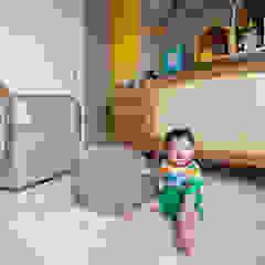 Quarto do Bernardo por Pri Martins Arquitetura Minimalista Pedra