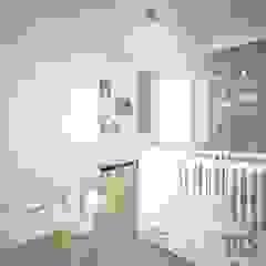 OES architekci Modern nursery/kids room MDF Grey