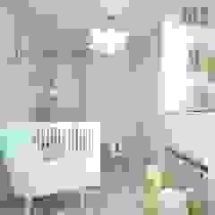 OES architekci Modern nursery/kids room Wood Beige