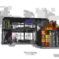 Jardins de inverno minimalistas por Identity Design & Architecture Part.,Ltd Minimalista