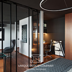 Apartment on Filimonova street Minsk Modern Study Room and Home Office by Unique Design Company Modern