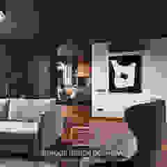 Apartment on Filimonova street Minsk Modern Living Room by Unique Design Company Modern