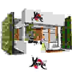 ร้านกาแฟ ญาณุ โดย Identity Design & Architecture Part.,Ltd มินิมัล
