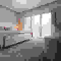 Residência DA Quartos minimalistas por UNISSIMA Home Couture Minimalista