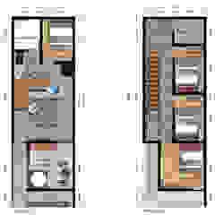 #01 - Erni Ami (ERNAMI) Gallery House Oleh SODA Indonesia Modern Kayu Lapis