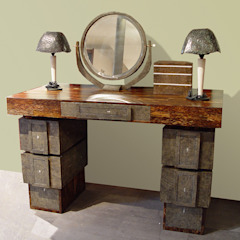 LUMI ห้องนั่งเล่นโต๊ะกลางและโซฟา ไม้ Wood effect