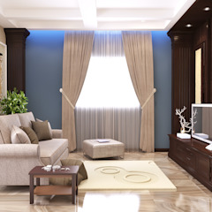 The Jasmine Residence Mediterranean style bedroom by Belal Samman Architects Mediterranean