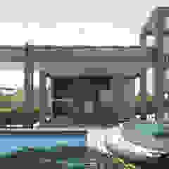인더스트리얼 수영장 by Perelopes Arquitetura 인더스트리얼